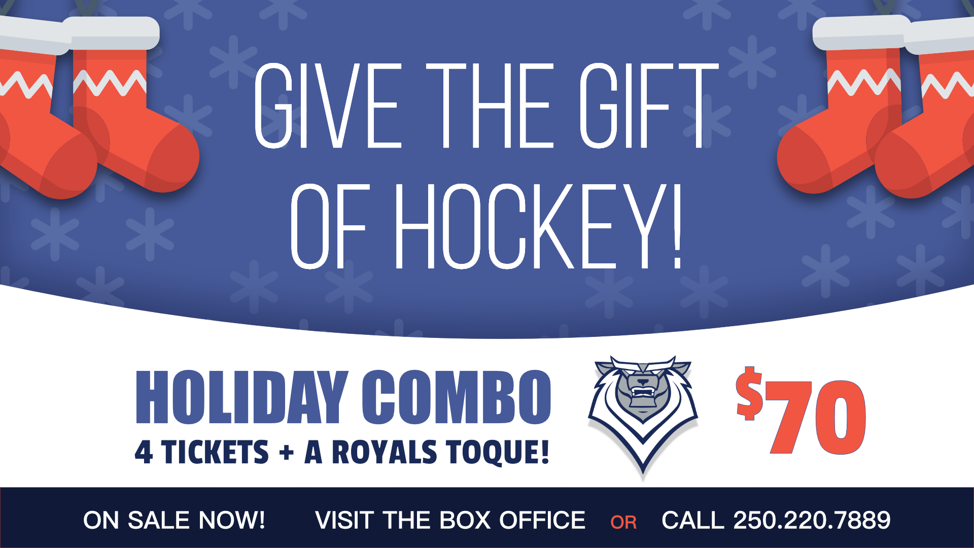 Victoria Royals Holiday Pack 2019